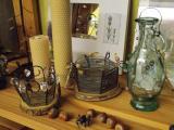 Drátované dekorativní předměty, autor: Lucie Jagošová