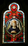 Vitráž anděl, autor: David Roskovec