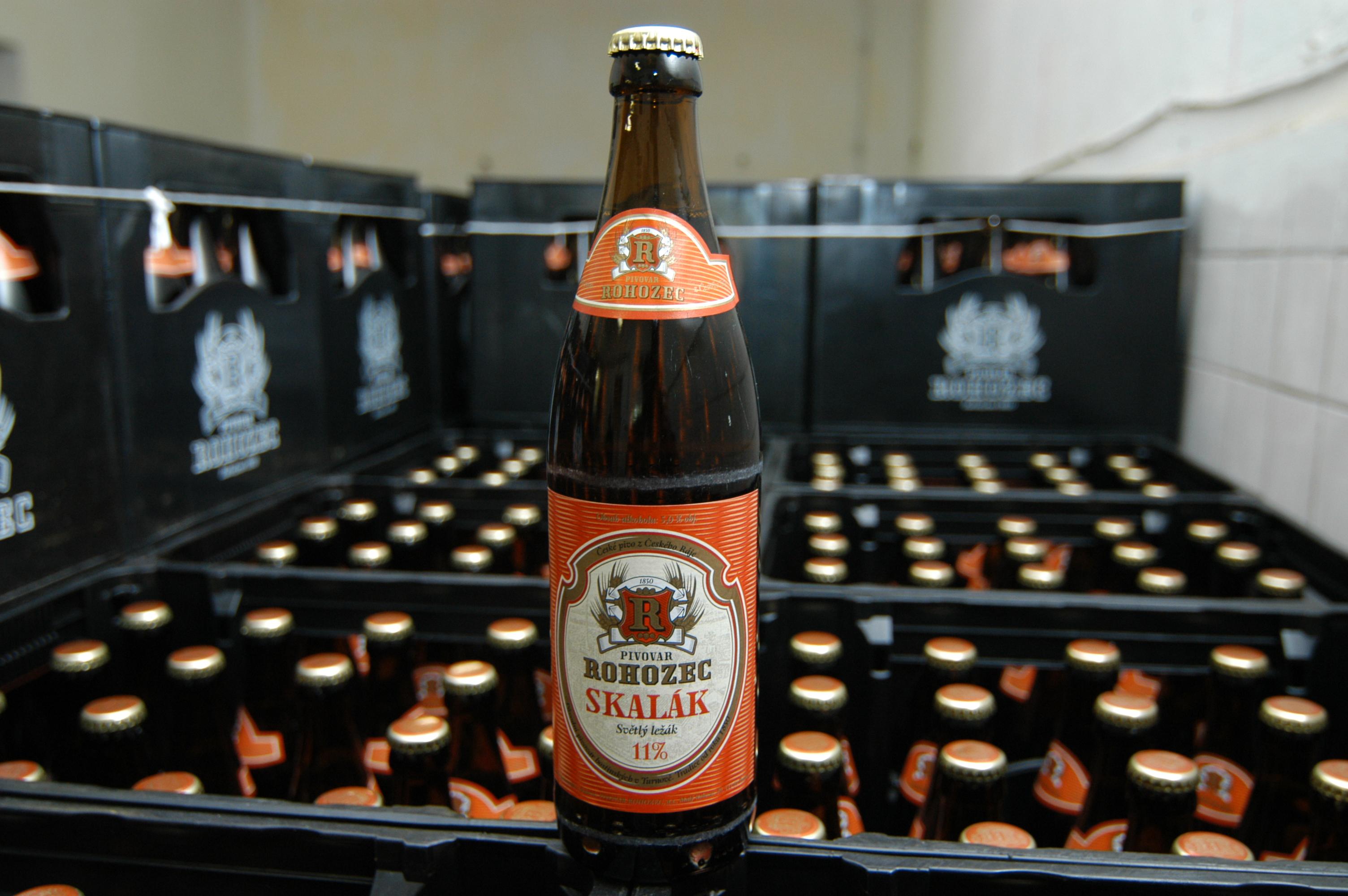 Pivo z Pivovaru Rohozec, a.s., obrázek se otevře v novém okně
