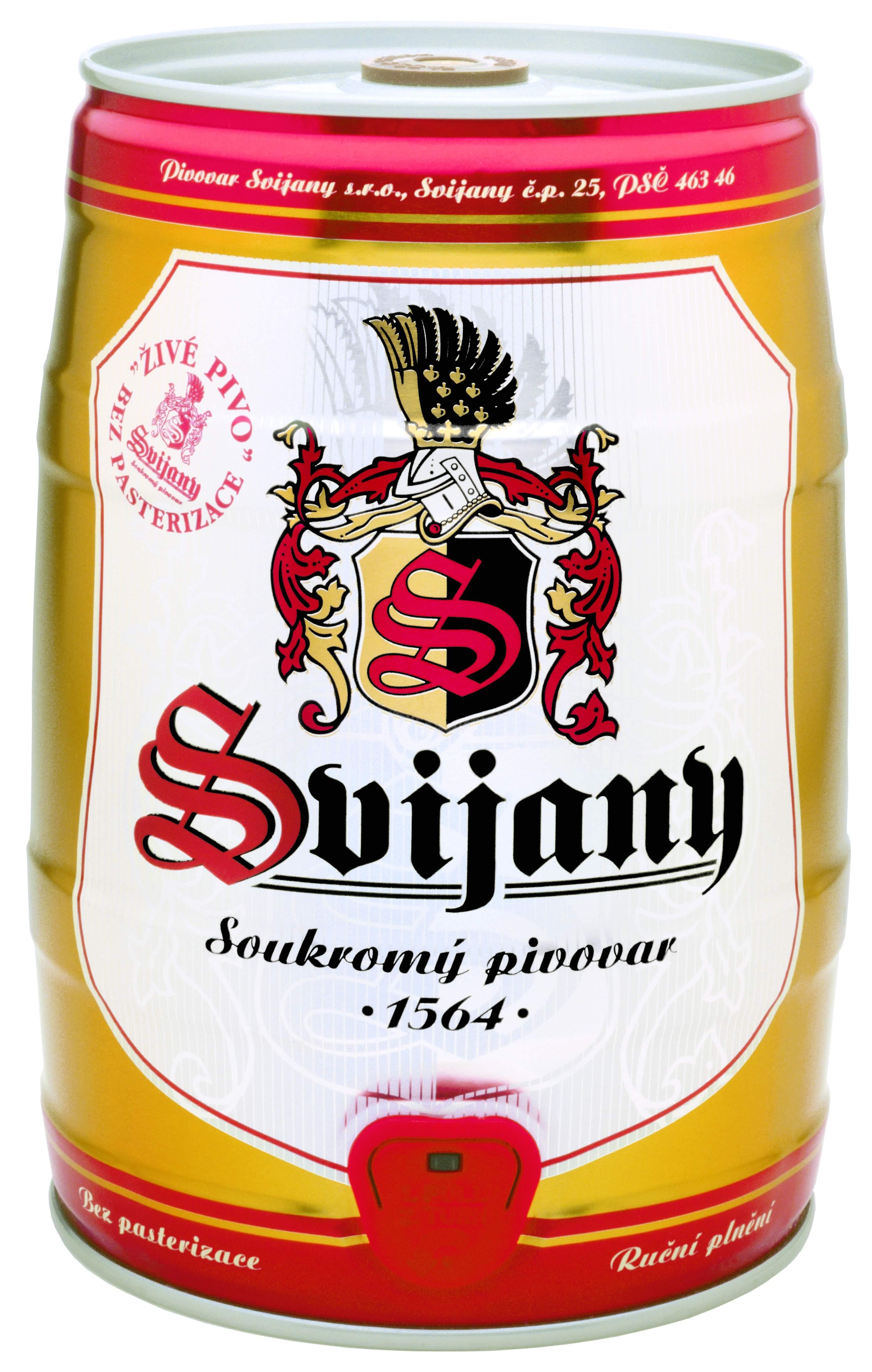 Pivo z Pivovaru Svijany, a.s., obrázek se otevře v novém okně